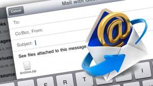 L'objet d'un email